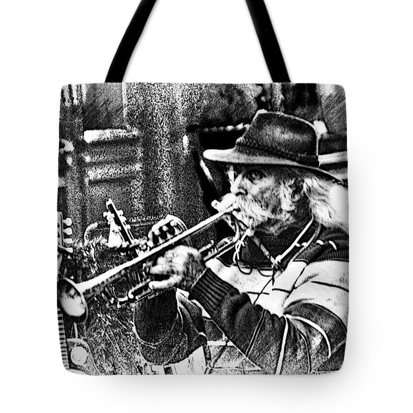French Quarter Music Tote Bag