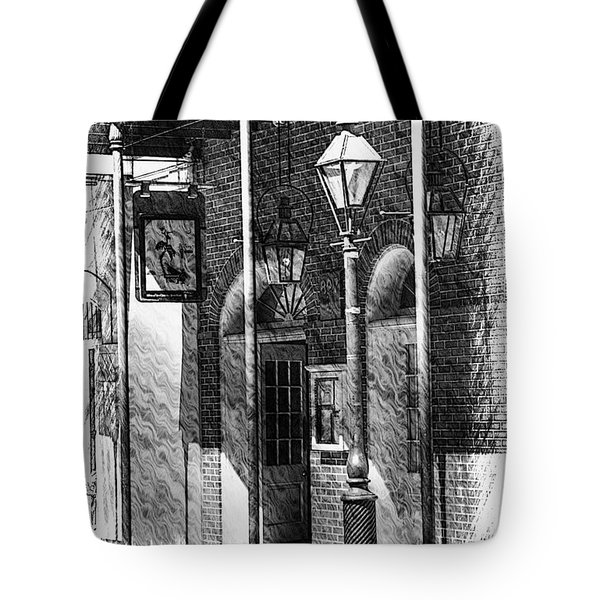 French Quarter Street Lamp Tote Bag