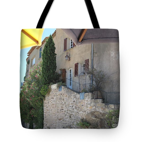Tote Bag featuring the photograph French Riviera - Ramatuelle by HEVi FineArt