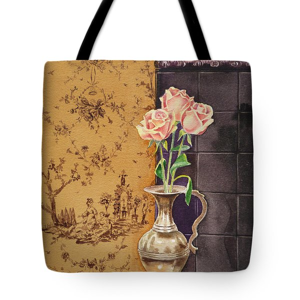 French Roses Tote Bag