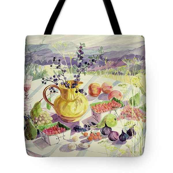 French Table Tote Bag by Elizabeth Jane Lloyd