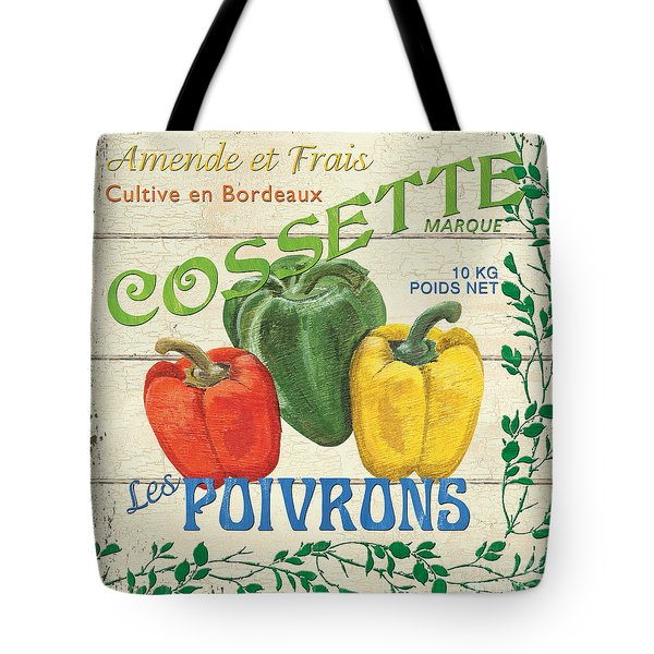 French Veggie Sign 4 Tote Bag