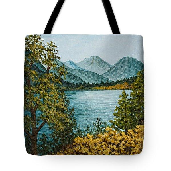 Frenchmans Lake Tote Bag