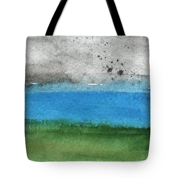 Fresh Air- Landscape Painting Tote Bag