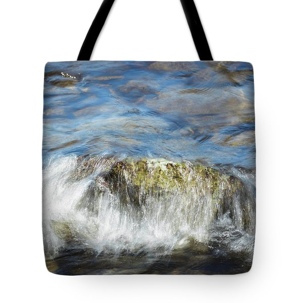 Tote Bag featuring the photograph Fresh And Clear Water by Ari Salmela