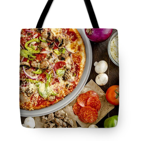 Fresh Baked Pizza Tote Bag