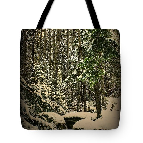 Tote Bag featuring the photograph Fresh Blanket by Greg DeBeck