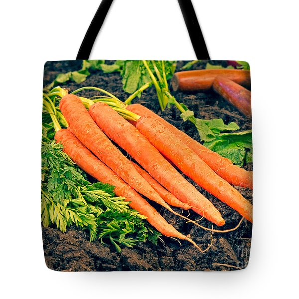 Fresh Carrots From The Garden Tote Bag