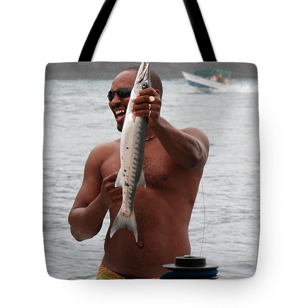 Fresh Catch Of Fish Castries St. Lucia Tote Bag by Jason O Watson