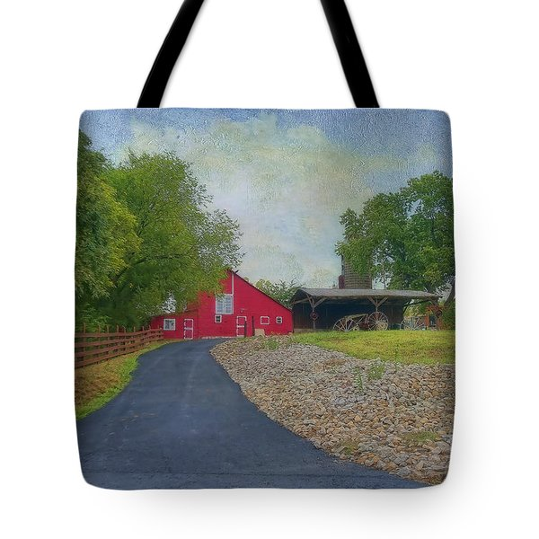 Tote Bag featuring the photograph Fresh Country Charm by Liane Wright