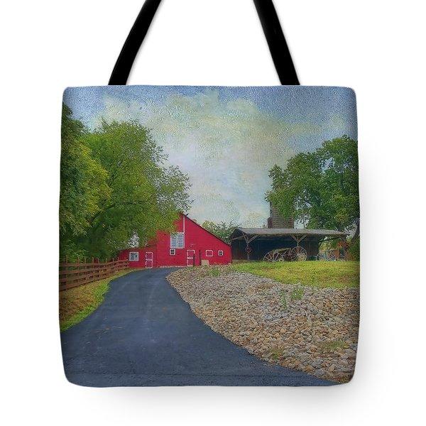 Fresh Country Charm Tote Bag by Liane Wright