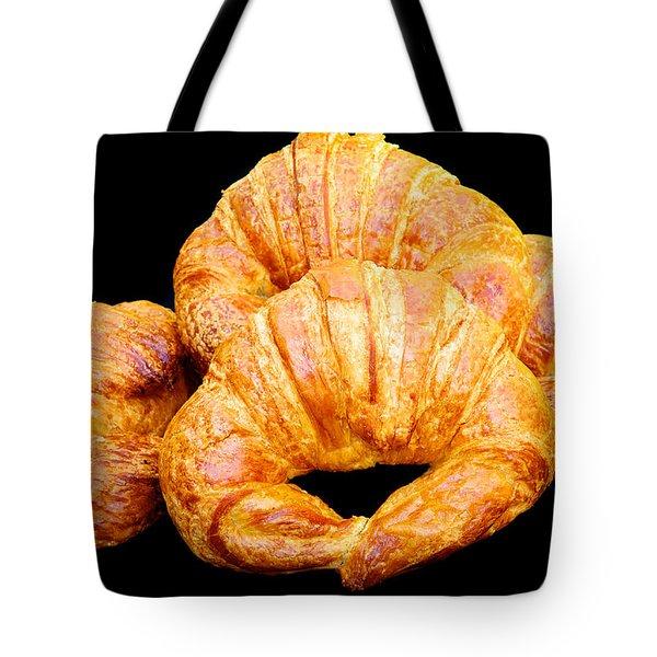 Fresh Croissants Tote Bag