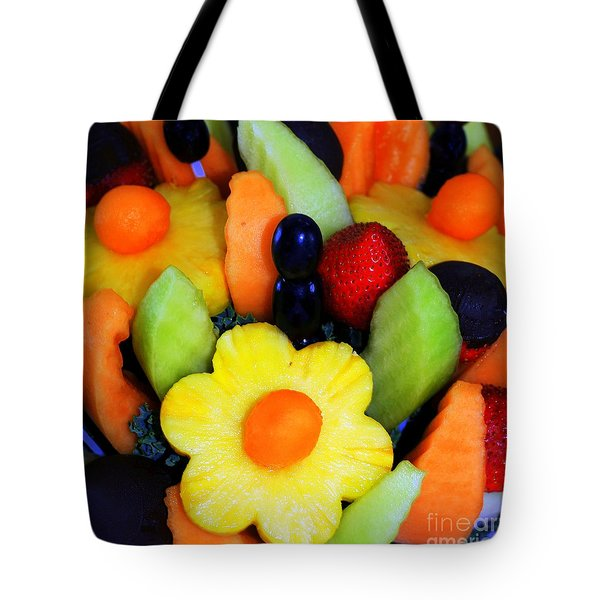 Fresh Fruit Tote Bag by Kathleen Struckle
