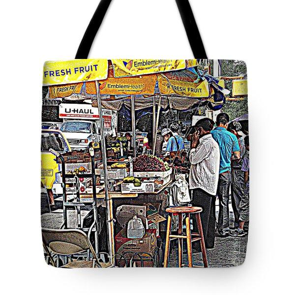 Fresh Fruit Tote Bag by Miriam Danar