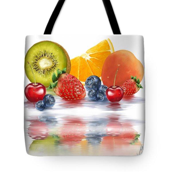 Fresh Fruits Tote Bag
