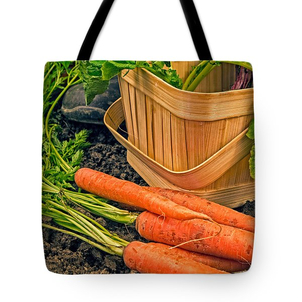 Fresh Garden Vegetables Tote Bag by Edward Fielding