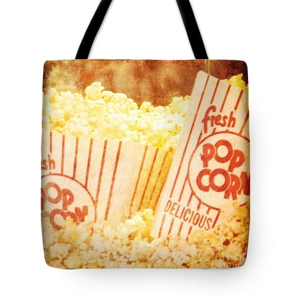 Fresh Hot Buttered Popcorn Tote Bag