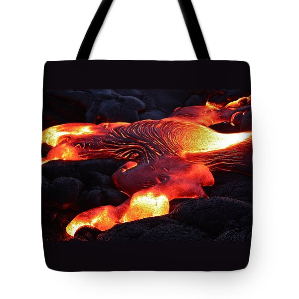 Fresh Lava Flow Tote Bag