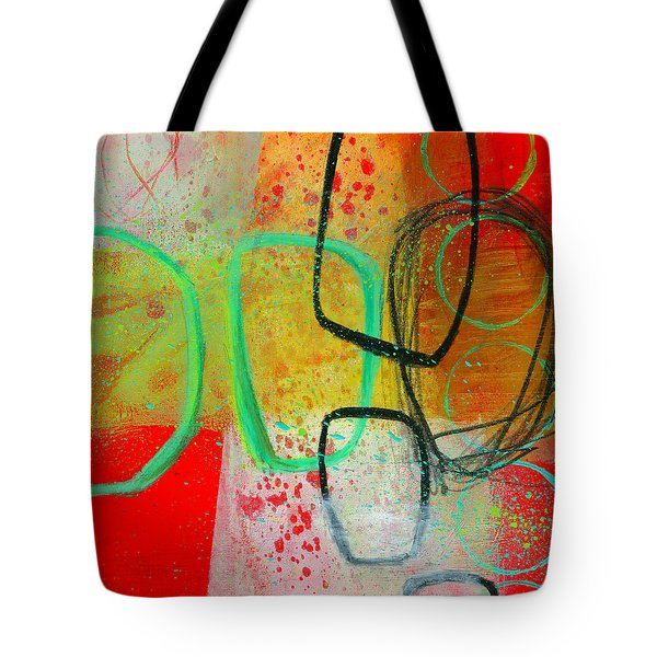 Fresh Paint #3 Tote Bag by Jane Davies