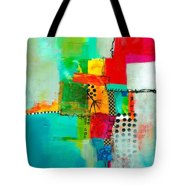 Fresh Paint #5 Tote Bag by Jane Davies