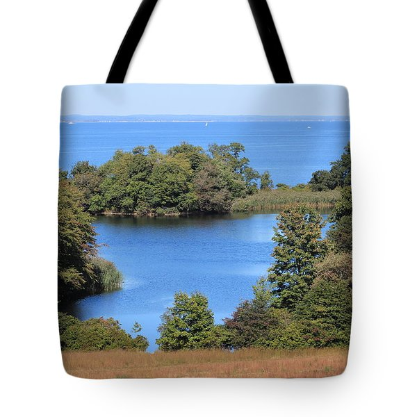 Fresh Pond At Caumsett Tote Bag