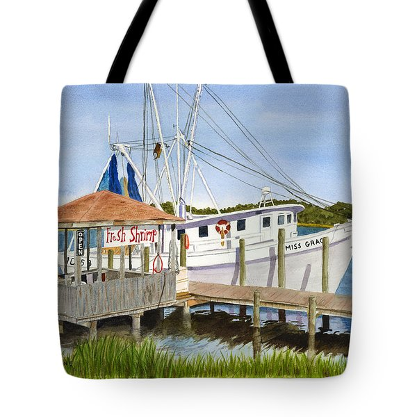 Fresh Shrimp  Tote Bag