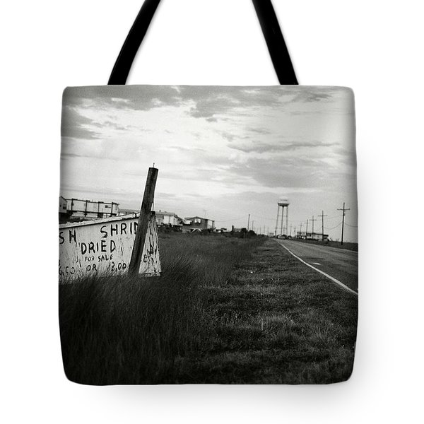 Fresh Shrimp Tote Bag by Scott Pellegrin