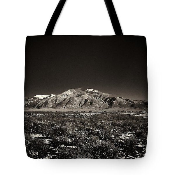 Fresh Snow Tote Bag