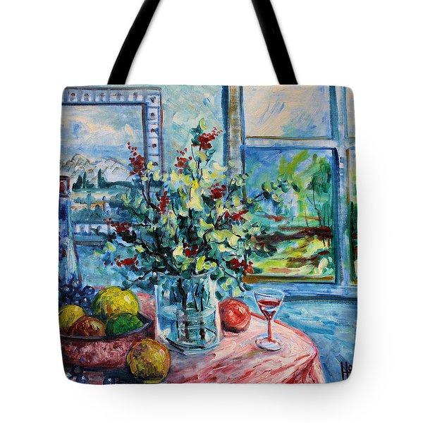Fresh Spring Tote Bag by Leonard Holland