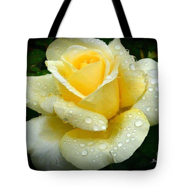 Fresh Sunshine Daydream Rose Tote Bag
