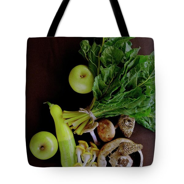 Fresh Vegetables And Fruit Tote Bag