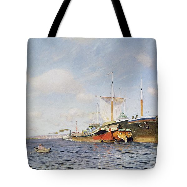 Fresh Wind On The Volga Tote Bag by Isaak Ilyich Levitan