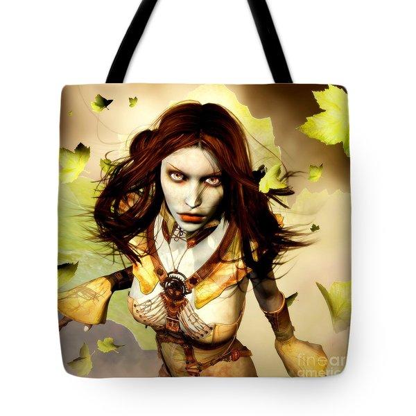Freya Tote Bag by Gabor Gabriel Magyar - Forgottenangel