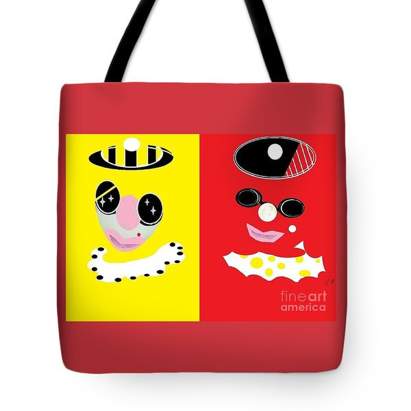 Frick And Frack  Tote Bag