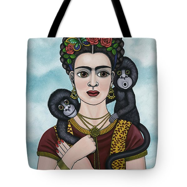 Frida In The Sky Tote Bag