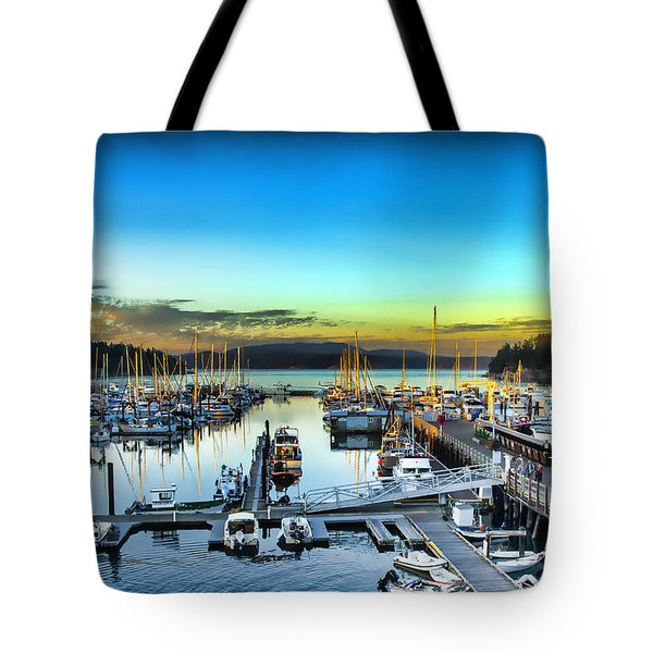 Friday Harbor Tote Bag