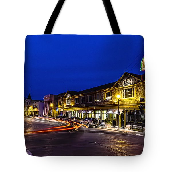 Friday Night Lights Tote Bag