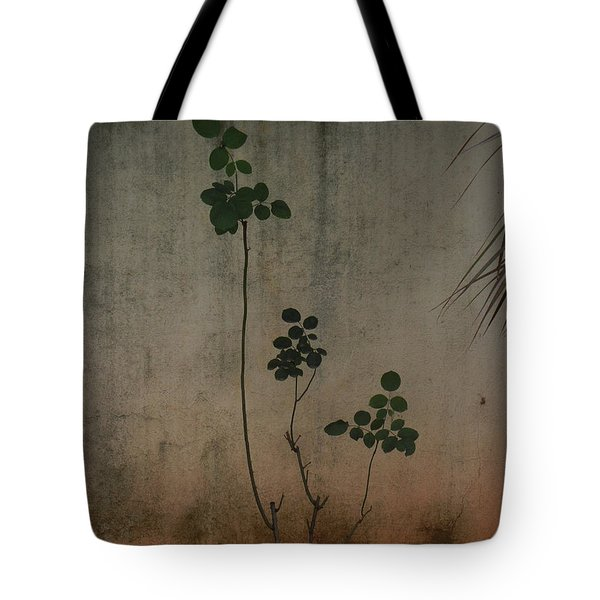 Friendless Rose Bush Tote Bag by Mini Arora