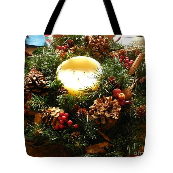 Friendly Holiday Reef Tote Bag by Robin Coaker
