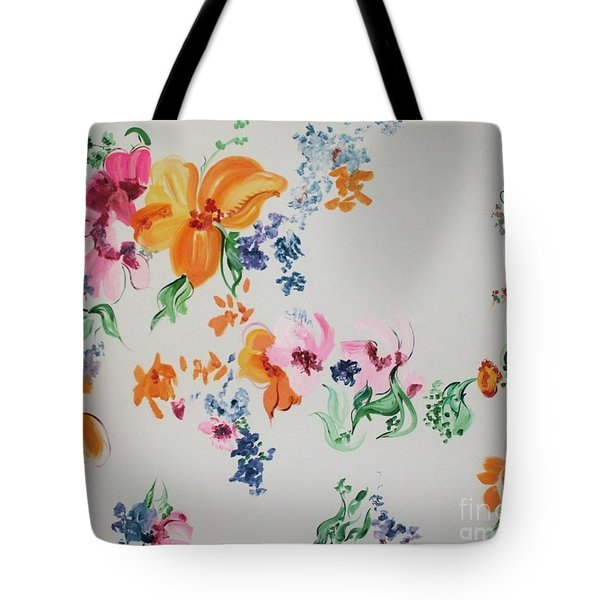 Friends Are Like Flowers Tote Bag by PainterArtist FIN