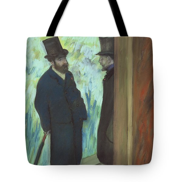 Friends At The Theater Tote Bag