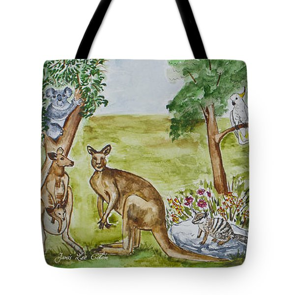 Friends Down Under Tote Bag