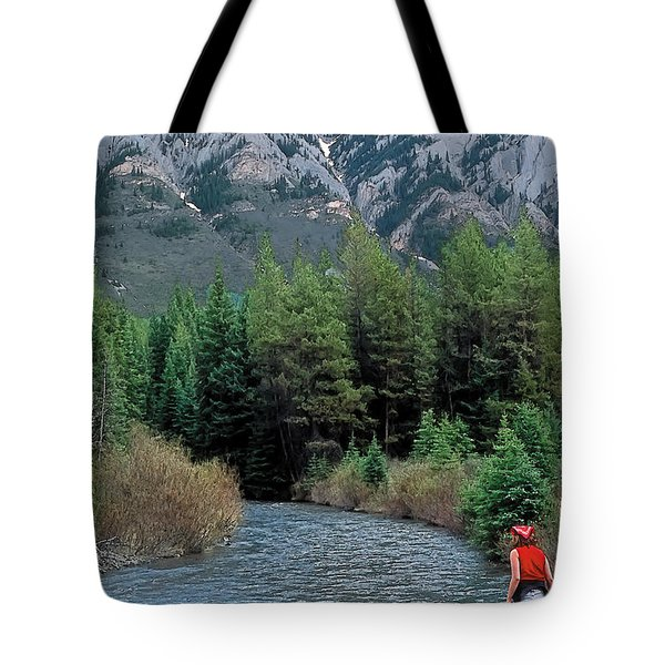 Friends In Awe Tote Bag by Terry Reynoldson