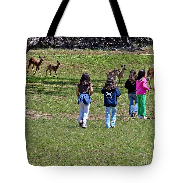 Friends Making Friends Tote Bag by Bob and Nadine Johnston