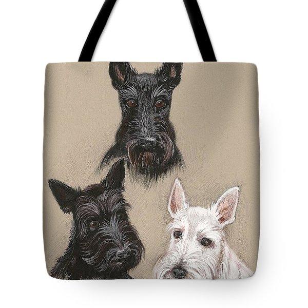 Friends Tote Bag by Margaryta Yermolayeva