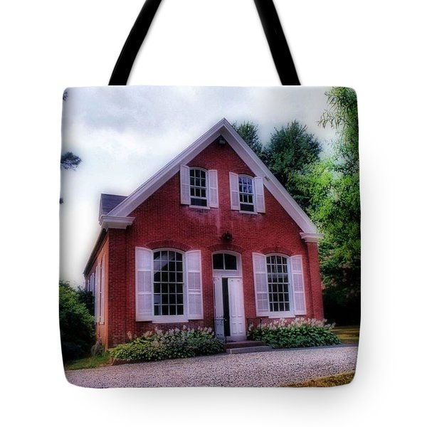 Friends Meeting House Tote Bag by Skip Willits