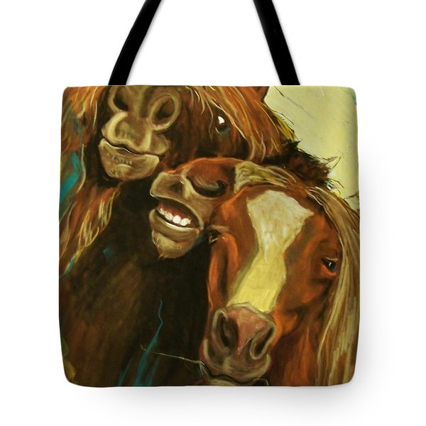 Friends Tote Bag by Peter Suhocke
