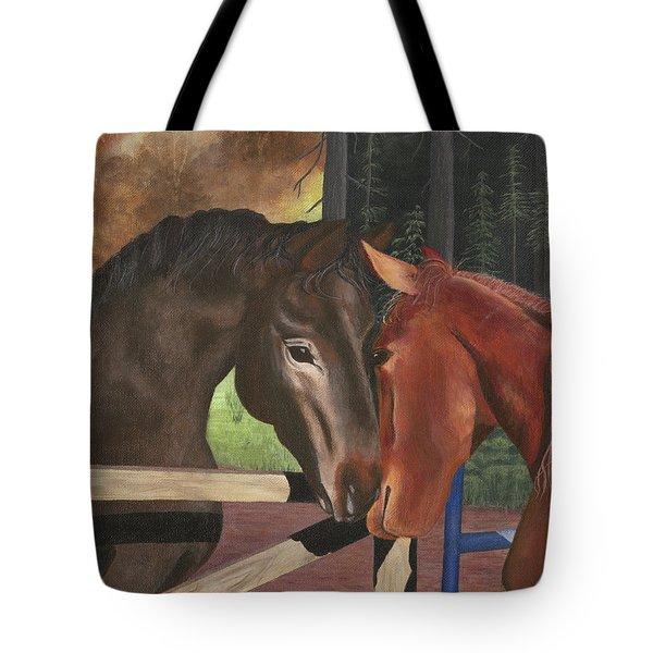 Friends Tote Bag by Sandy Jasper