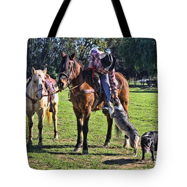 Friends Tote Bag by Tommy Anderson