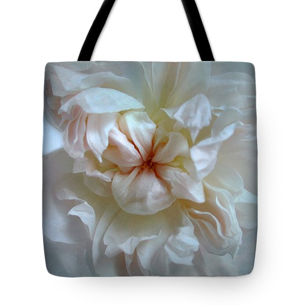 Friendship Is The Breathing Rose Tote Bag by Louise Kumpf